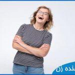 صدای خنده دختر یا زن