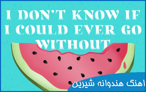 اهنگ i don't know if i could ever go without - Watermelon Sugar